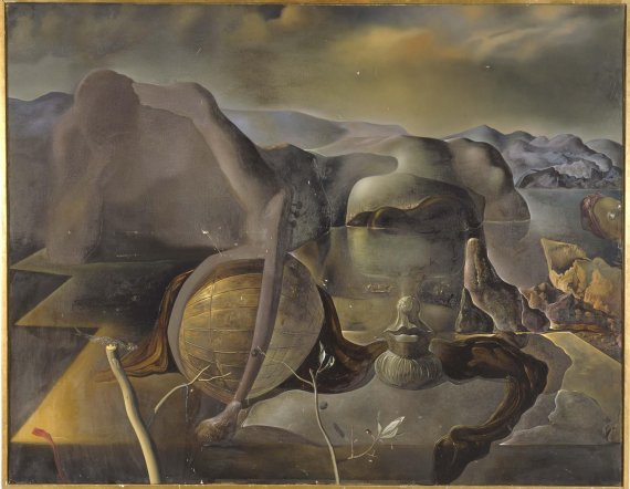 "Dali's ""Endless Enigma"" (photo ref: http://www.museoreinasofia.es/en/collection/artwork/endless-enigma)"