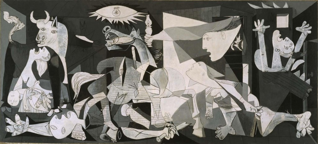 Picasso's Guernica (photo ref: http://www.museoreinasofia.es/en/collection/artwork/guernica)