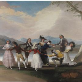 "Goya's ""La Gallina Ciega"""