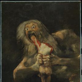 """Goya's """"Saturno""""."""
